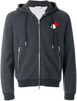 Moncler logo hooded sweatshirt