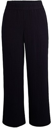 Eileen Fisher Straight-Leg Cropped Pants
