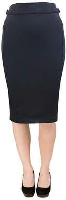 Carol Vee Stretch Ponte Fashion Skirt