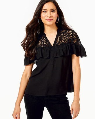 Lilly Pulitzer Marabella Lace Top