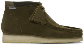 Clarks Green Carhartt Edition Wallabee Boots