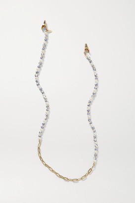 Eliou Arther Gold-plated, Pearl And Bead Sunglasses Chain