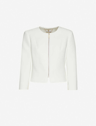 Ted Baker Cropped crepe jacket