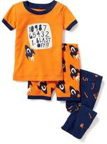 "Old Navy 3-Piece ""Blast Off"" Sleep Set For Toddler & Baby"