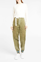 Acne Studios Ilse Swedish Flag-Print Trousers