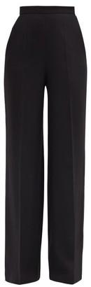 Giambattista Valli High-rise Wide-leg Trousers - Black