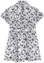 Karl Lagerfeld Printed shirt dress