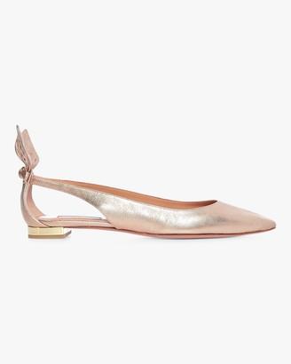 Aquazzura Nappa Deneuve Ballet Flat