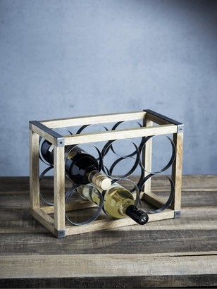 Kitchen Craft Industrial Kitchen Wine Rack