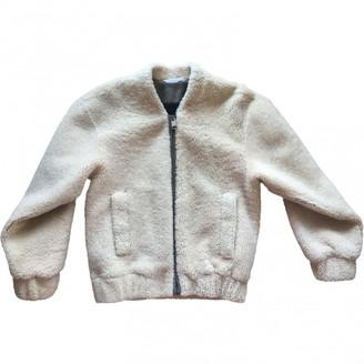 Reed Krakoff Beige Shearling Jacket for Women