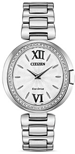 Citizen Capella Diamond Watch, 34mm