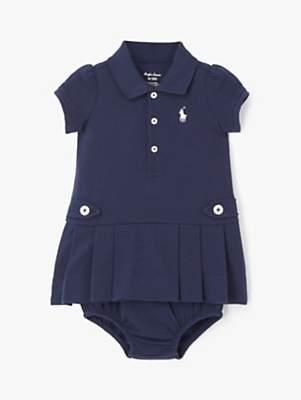 Ralph Lauren Polo Baby Polo Dress