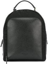 Prada zip backpack