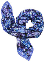 Kate Spade Hydrangea silk square scarf