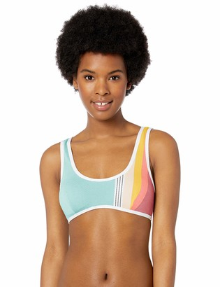 Rip Curl Junior's Beach Street Sport Bikini Top Swim Suit