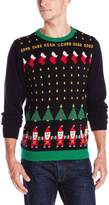 Alex Stevens Men's Santa Invaders Sweater