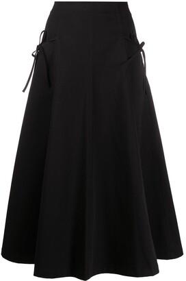 VIVETTA Tie-Fastening High-Waist Skirt