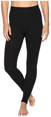 Beyond Yoga High Waisted Long Leggings (Jet Black) Women's Casual Pants