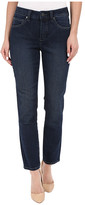 Miraclebody Jeans Five-Pocket Angie Skinny Ankle Jeans in Seattle Blue