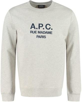 A.P.C. Rufus Cotton Crew-neck Sweatshirt