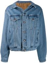 Couture Forte Dei Marmi lined denim jacket