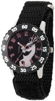 Thumbnail for your product : EWatchFactory Disney Frozen 2 Olaf Boy's Stainless Steel Time Teacher, Black Bezel Watch 32mm