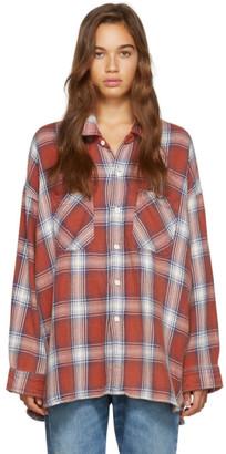 R 13 Red Plaid Bigmac Shirt
