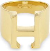 Chloé Alphabet H ring