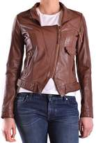 Pinko Women's Brown Polyester Jacket.