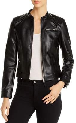 Vero Moda Sheena Faux-Leather Moto Jacket