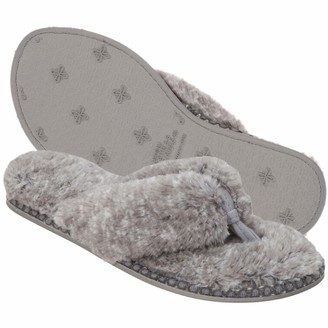 Dearfoams Women's Pile Thong Slipper