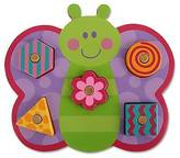 Stephen Joseph Shaped Wooden Peg Puzzle - Butterfly
