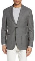 Michael Bastian Men's Classic Fit Check Wool Sport Coat