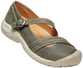 Keen Presidio II Leather Mary Jane Flat