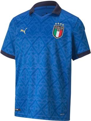 Puma Junior Italy Euro 2021 Replica Shirt
