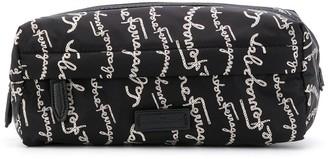Salvatore Ferragamo Signature Print Wash Bag