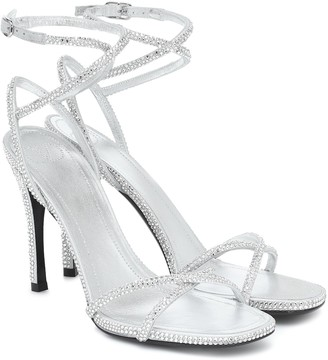 Valentino Upflair 105 embellished leather sandals