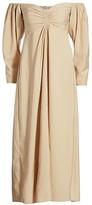 A.L.C. Calley Off-The-Shoulder Midi Dress
