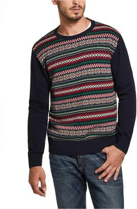 Weatherproof Vintage Men Fair Isle Sweater