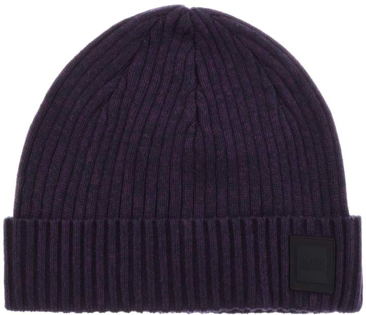 03bfeb014 Boss Casual BOSS Casual Areffeno Beanie Hat Blue