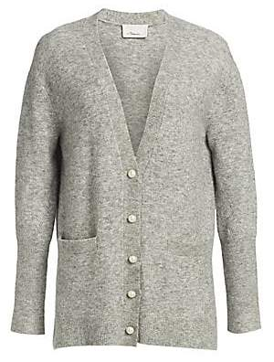 3.1 Phillip Lim Women's Lofty Welt Pocket Cardigan