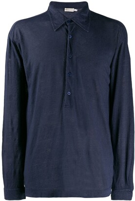 Giorgio Armani Pre-Owned 1990's Longsleeved Polo Shirt