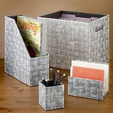 Recycled Paper Desktop Organizers
