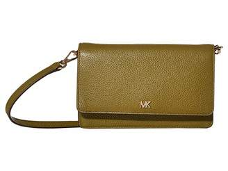 MICHAEL Michael Kors Phone Crossbody (Black) Cross Body Handbags