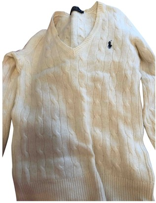 Polo Ralph Lauren White Knitwear for Women