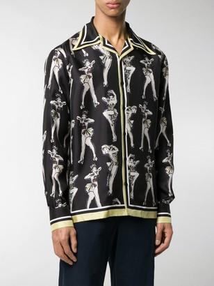 Dolce & Gabbana Pin-Up printed shirt