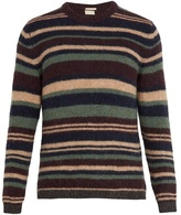 Massimo Alba Striped Alpaca-blend Sweater
