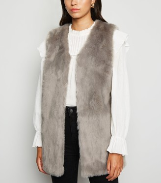 New Look Faux Fur Gilet