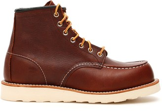 Red Wing Shoes Moc Toe Boots 08138