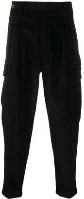 Pt01 Corduroy Tapered-Leg Trousers